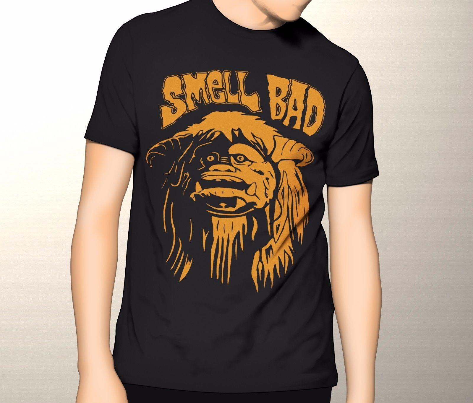 Labyrinth Shirt, Ludo Smell Bad Premium Graphic T-Shirt S-5XL