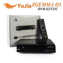 Original BCM73625 Dual Core Zgemma H5 DVB-S2 + DVB-T2/C Sintonizador Híbrido ZGEMMA H5 H.265 HEVC Combo Receptor de Satélite receptor