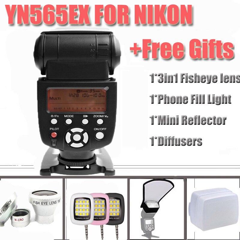 Free Shipping Yongnuo YN565EX YN-565EX yn565ex yn 565ex i-TTL Flash Speedlite for Nikon D7200 D300 D300s D200 D90 D80 yongnuo i ttl flash speedlite yn 565ex yn565ex speedlight for nikon d7000 d5100 d5000 d3100 d3000 d700 d300 d300s d200 d90 d80