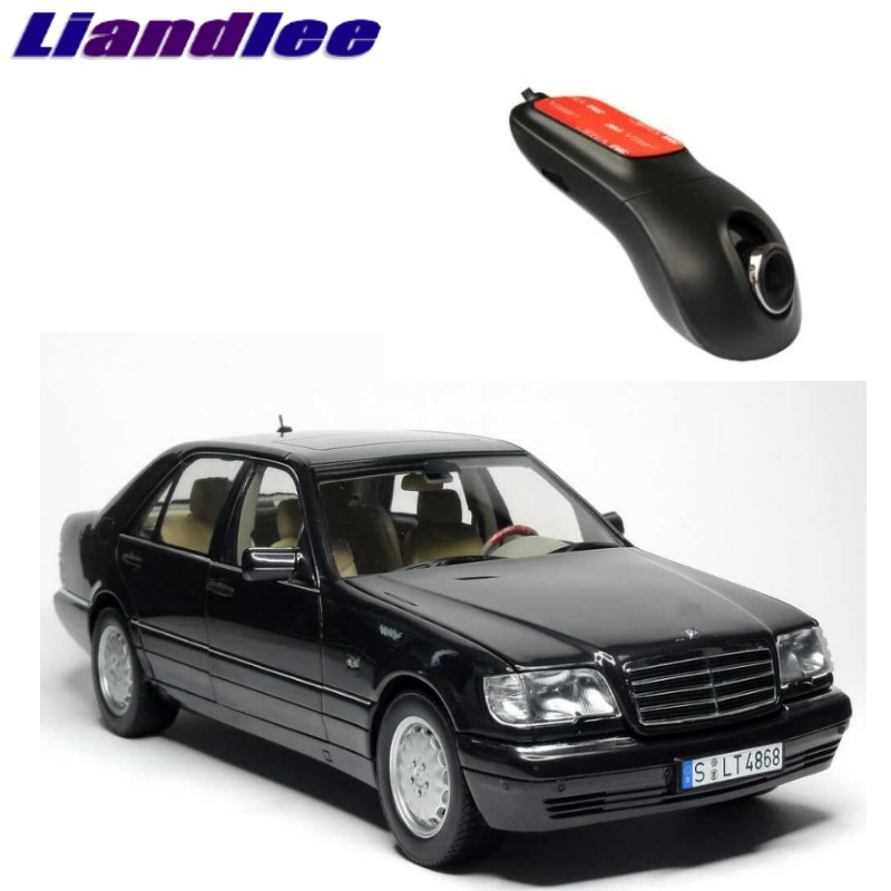 Liandlee For Mercedes Benz S MB W140 1991~1998 Car Black Box WiFi DVR Dash Camera Driving Video Recorder ...