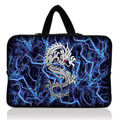 "Free Shipping Blue Dragon 10"" Laptop Sleeve Bag Case + Handle For Apple New iPad 3 / HP Touchpad"