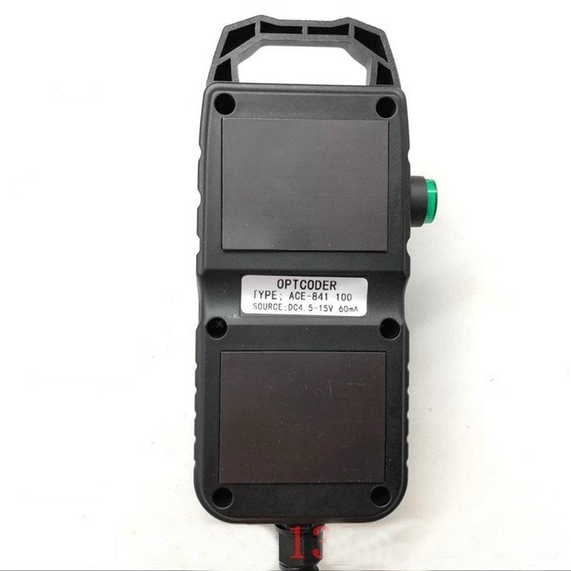 Станок с ЧПУ ручное колесо ACE 841 ACE 842 100 optcoder маховик MPG ручной импульсный генератор X1 X10 X100 соотношение - 4