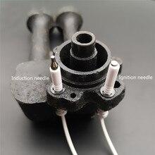 Agulha universal da ignição/agulha da indução para a ignição cerâmica do elétrodo do fogão a gás com fio de alta temperatura da resistência 490mm