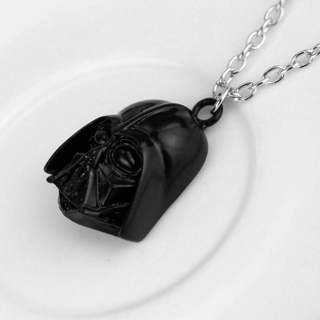 Hot Movie Star Wars Mask Pendant Necklace