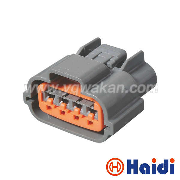 free shipping 2sets 4pin automotive harness connector oxygen sensor plug  waterproof socket fits nissan cas connector
