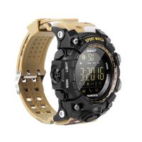 Smart Watch 50M Waterproof Outdoor Sports Camouflage Wind Free Charging Luminous Dial Multi Function Phone Information Prompt