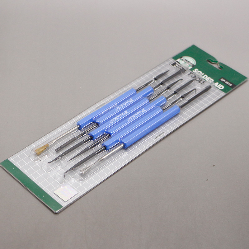 Proskit 6 Pcs/Lot Specialized Tools for Soldering Assisting Rods for P.C.BOARD Soldering Work