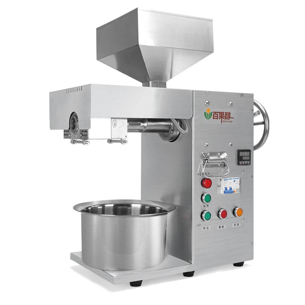 Mini presse à huile pressée à froid