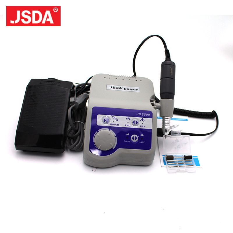 Professional 65 W 35000 RPM Jsda Electric Nail Manicure Pedicure Machine Polisher For Nail Art Machine