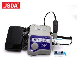 Image 1 - Профессиональная электрическая машинка для маникюра и педикюра Jsda, 65 Вт, 35000 об/мин, полировщик для машинки для дизайна ногтей, 220 В