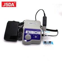 Professionelle 65 W 35000 RPM Jsda Elektrische Nagel Maniküre Pediküre Maschine Polierer Für Nail art Maschine 220V