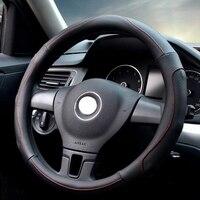 Pokrywa koła samochodu kierownicy Średnica 36 cm 38 cm 40 cm/Hurtowych Dostaw masaż Skóry Kierownicy Beżowy dla VW Subaru Ford