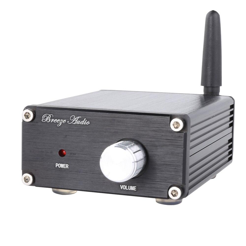 KGUSS HC502 50W*2 HiFi TPA3116D2 Power Amplifier Bluetooth 4.2 Stereo Mini Digital Amplifier kguss hc502 50w 2 hifi tpa3116d2 power amplifier bluetooth 4 2 stereo mini digital amplifier