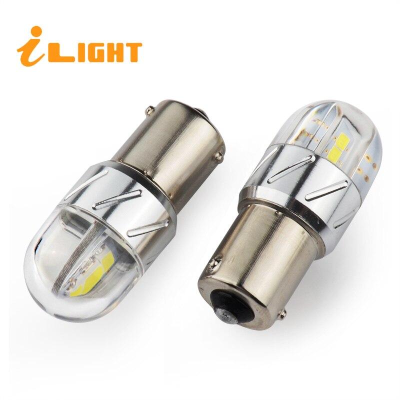 ILight 2x P21W Rote LED BA15S led lampe 1156 Gelb Weiß Auto Reverse ...