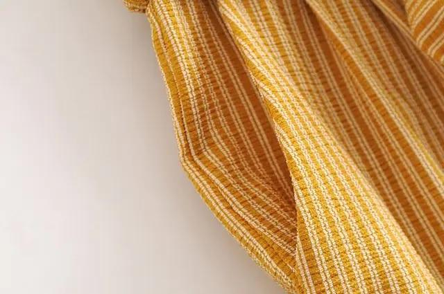 Women Fashion Striped Print Summer Loose High Street Wide Leg pants Casual High Waist bowknot Ankle-Length PantsN284