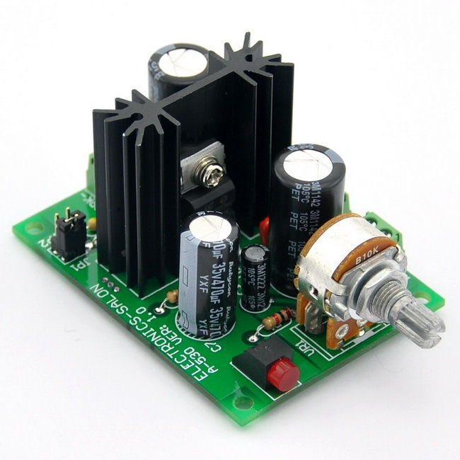 Mono 10 w Modulo Amplificatore Audio, sulla Base di TDA2003 A. per Auto Radio ecc.Mono 10 w Modulo Amplificatore Audio, sulla Base di TDA2003 A. per Auto Radio ecc.