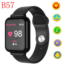 B57 Women Men Smart watches Waterproof Sport For IOS Android phone Smartwatch Heart Rate Monitor Blood Pressure Functions pk IWO(China)