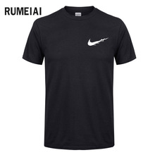 Europe Size New brand Mens t-shirts Casual clothes Funny brand t shirt men print Cotton T-shirt Mens Hip hop Skate Tshirt Tops(China)