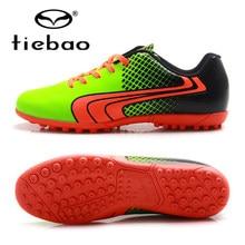 fc6e25971 TIEBAO 2017 المهنية العلامة التجارية TF باطن العشب أحذية كرة القدم المرابط  التدريب في الهواء الطلق أحذية كرة القدم أحذية كرة الق.