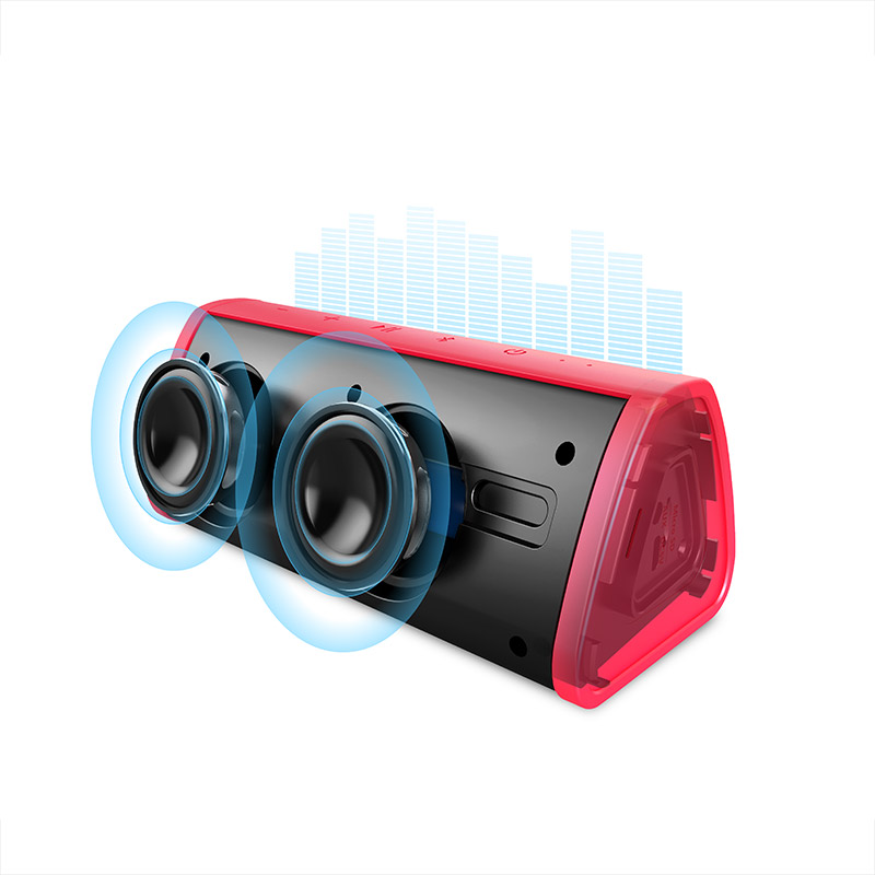 MIFA Red-Graffiti Bluetooth Speaker Outdoor Portable Wireless