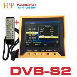 [Oryginalne] KPT-356H 3.5 inchHandheld TFT LCD wielofunkcyjny (DVB-S/S2) cyfrowa wizjer satelity lepiej satelink ws-6906 6933
