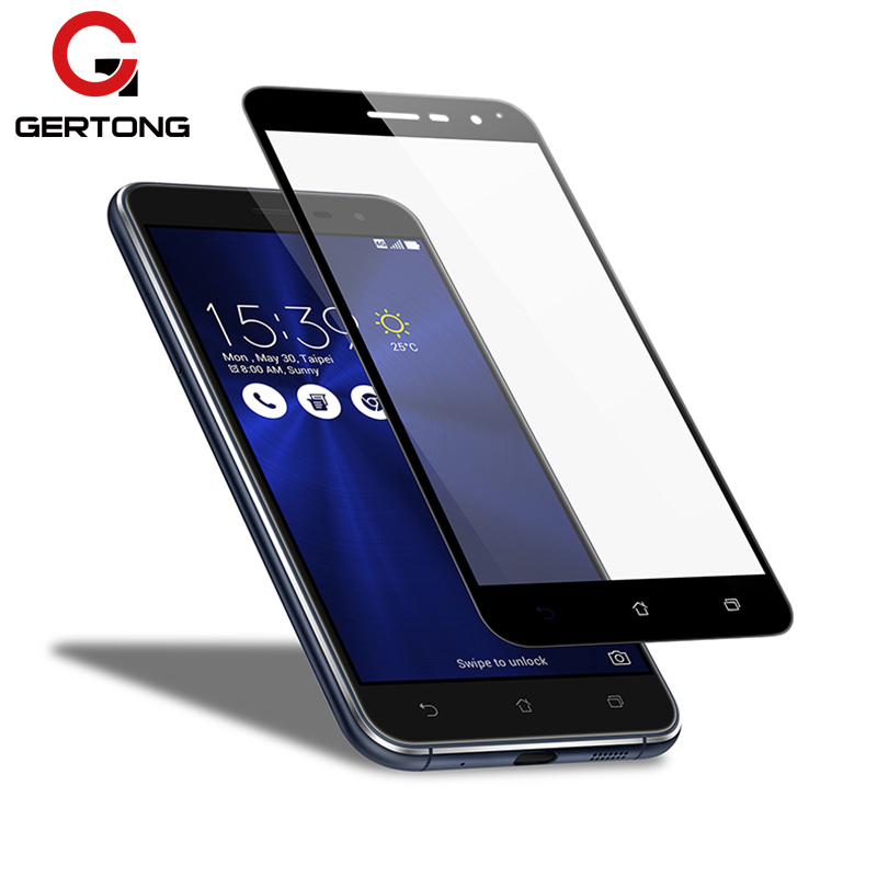 Full Cover Tempered <font><b>Glass</b></font> For <font><b>Asus</b></font> Zenfone 4 Max ZC554KL ZC520KL 3 <font><b>ZC553KL</b></font> ZC520TL ZC521TL ZE554KL ZE520KL ZE552KL ZB501KL Film image