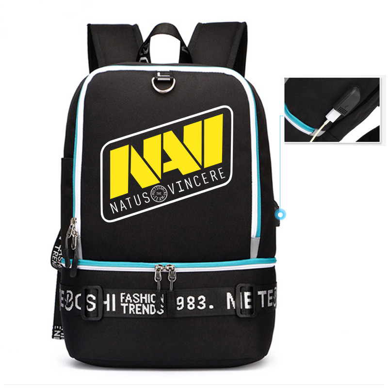 2019 New The International DOTA2 Championships NAVI Team Men Backpack Dota Travel Backpack USB Charging Laptop Backpack Rugzak2019 New The International DOTA2 Championships NAVI Team Men Backpack Dota Travel Backpack USB Charging Laptop Backpack Rugzak