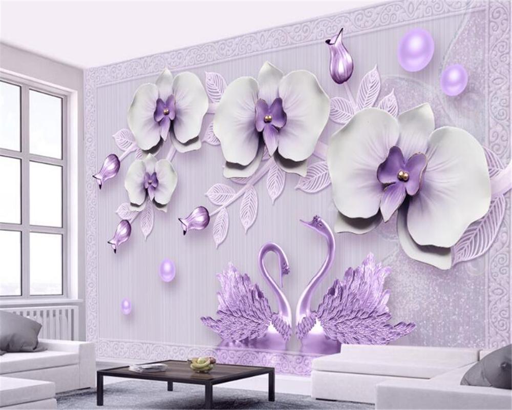 Beibehang Custom Photo Wall Mural 3d Wallpaper Luxury: Beibehang Custom Wallpaper Living Room Bedroom Mural 3d