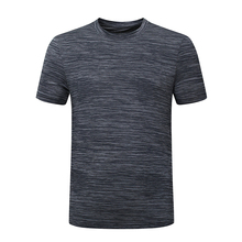 BHWYFC Ice Silk Mens Top Shirt Quick Dry Running t Men Short Sleeve Outdoor Sports Sportswear Fitness Gym
