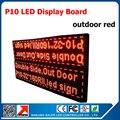 Красный цвет из светодиодов дисплей, P10 из светодиодов знак, Программируемый и прокрутки сообщения двухсторонняя красный цвет P10 из светодиодов дисплей