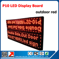 Outdoor Red Color LED Display, P10 led sign, Programmable and Scrolling Message Double Side Red Color P10 LED Display