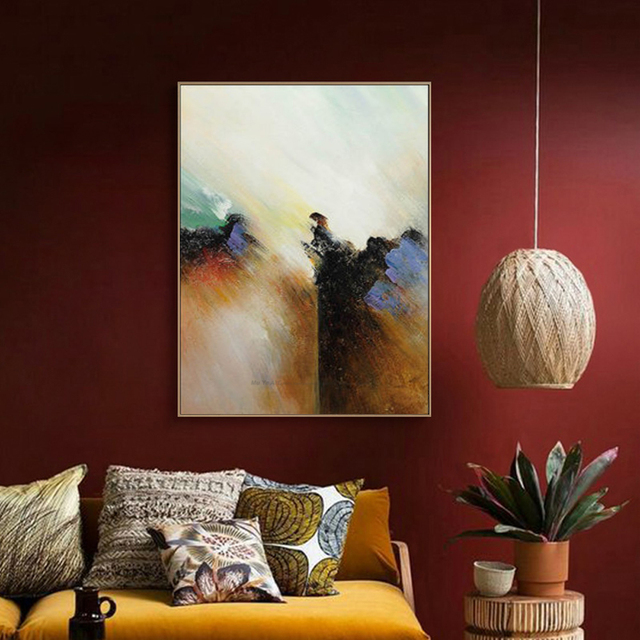 muya cuadros decoracion abstracta grande toile mur art tableau d coration murale salon moderne. Black Bedroom Furniture Sets. Home Design Ideas