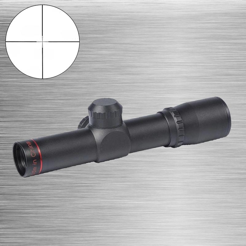 New None-Illumination 4.5X20 Mil-Dot 1 inch Compact Hunting Riflescope With Flip-up Cover For Riflescopes Free Shipping колье ошейник none 1 x