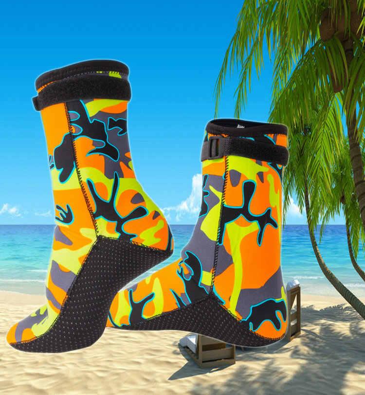 3mm Neopreen Camouflage Duiken Surfen Sokken Warm Zwemmen Schoenen Voorkomen Scratch Mannen Vrouwen Kinderen Strand Snorkelen Laarzen
