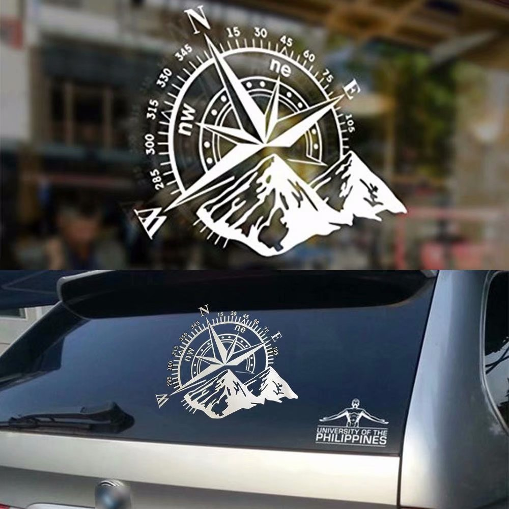 Compass Vinyl Sticker Decal Off Road Car Hood Side Body Window Universal
