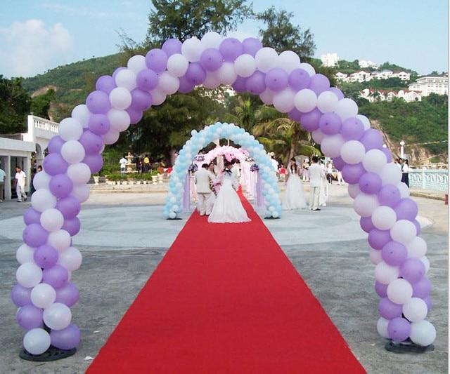 Fuentes de la boda festiva arcos de globos marco plegable carpeta ...