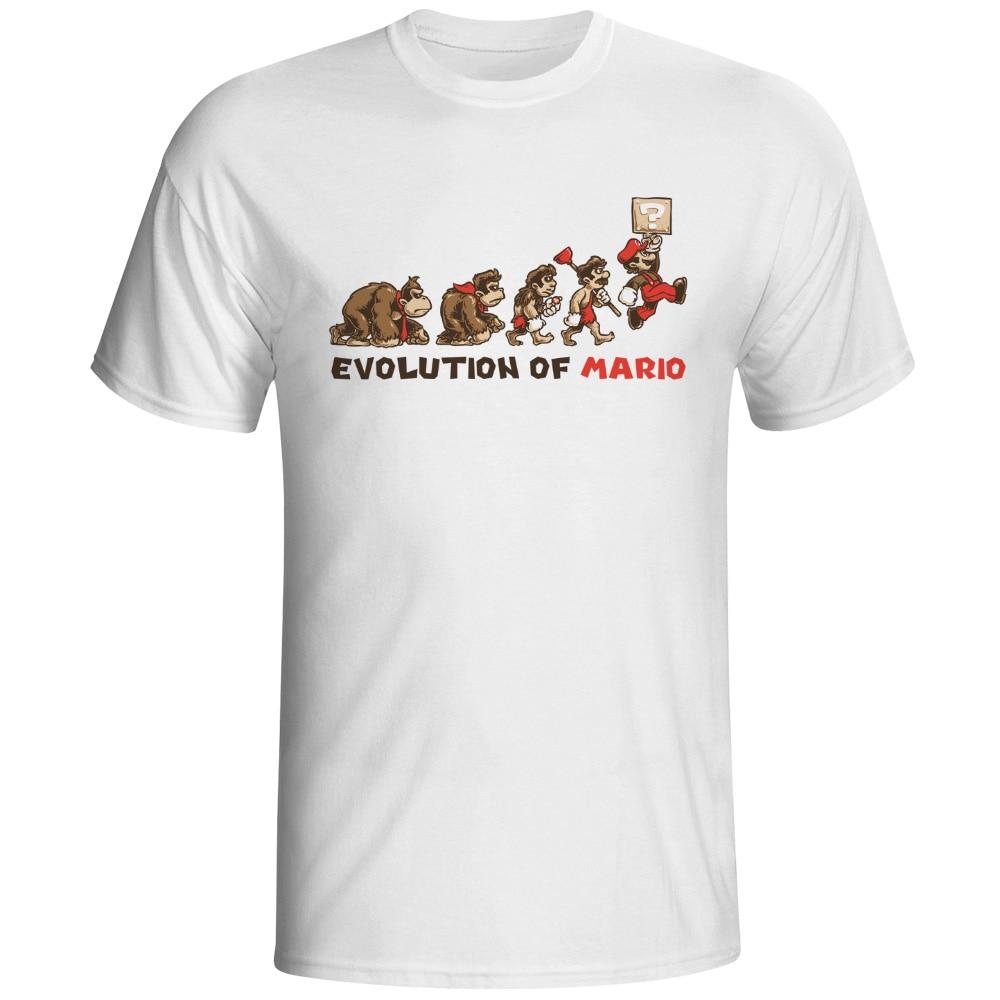 Original Creative Evolution Series T Shirt Funny Bat Fashion Cool T-shirt Novelty Printed Tshirt Men Women Geek Tee