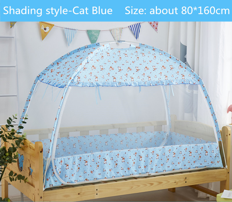 Three door Children Bed Mosquito Netting Large Space Portable Tent for Kids 80 160 80 180cm
