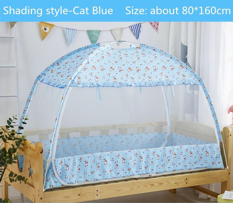 Mutter & Kinder Drei-tür Kinder Bett Moskito Netting Große Raum Tragbare Zelt Für Kinder 80*160/80*180 Cm Kind Babybett Krippe Baldachin Cama Baby