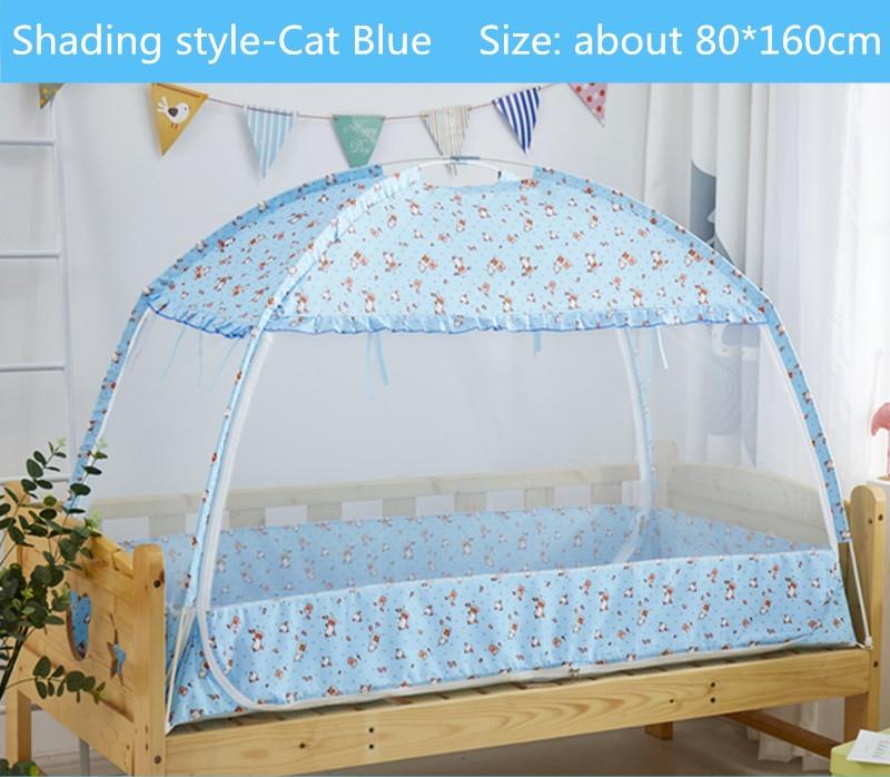 цена на Three-door Children Bed Mosquito Netting Large Space Portable Tent for Kids 80*160/80*180cm Child Baby Cot Crib Canopy cama bebe