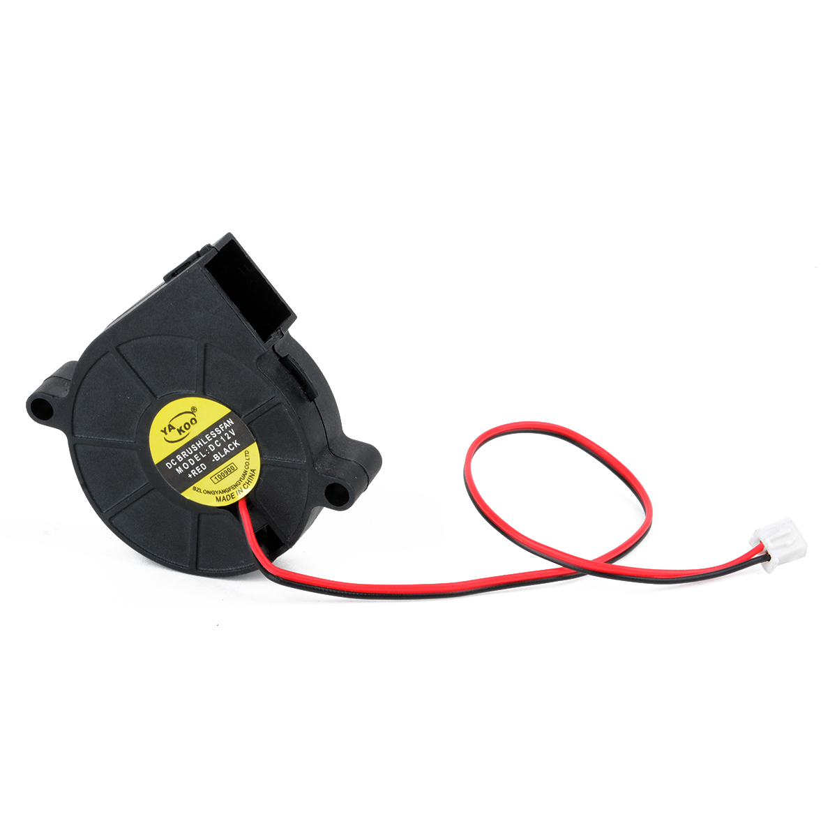 12V DC 50mm Cooling Blower Fan Hotend Extruder Air Blower For 3D Printer 50X50X15mm nmb 3610kl 05w b49 9225 24v 3 wire cooling fan blower