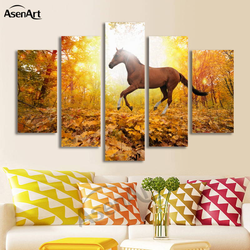 Frameless Canvas Prints Artwork Painting Picture Living Room Wall Art Decor