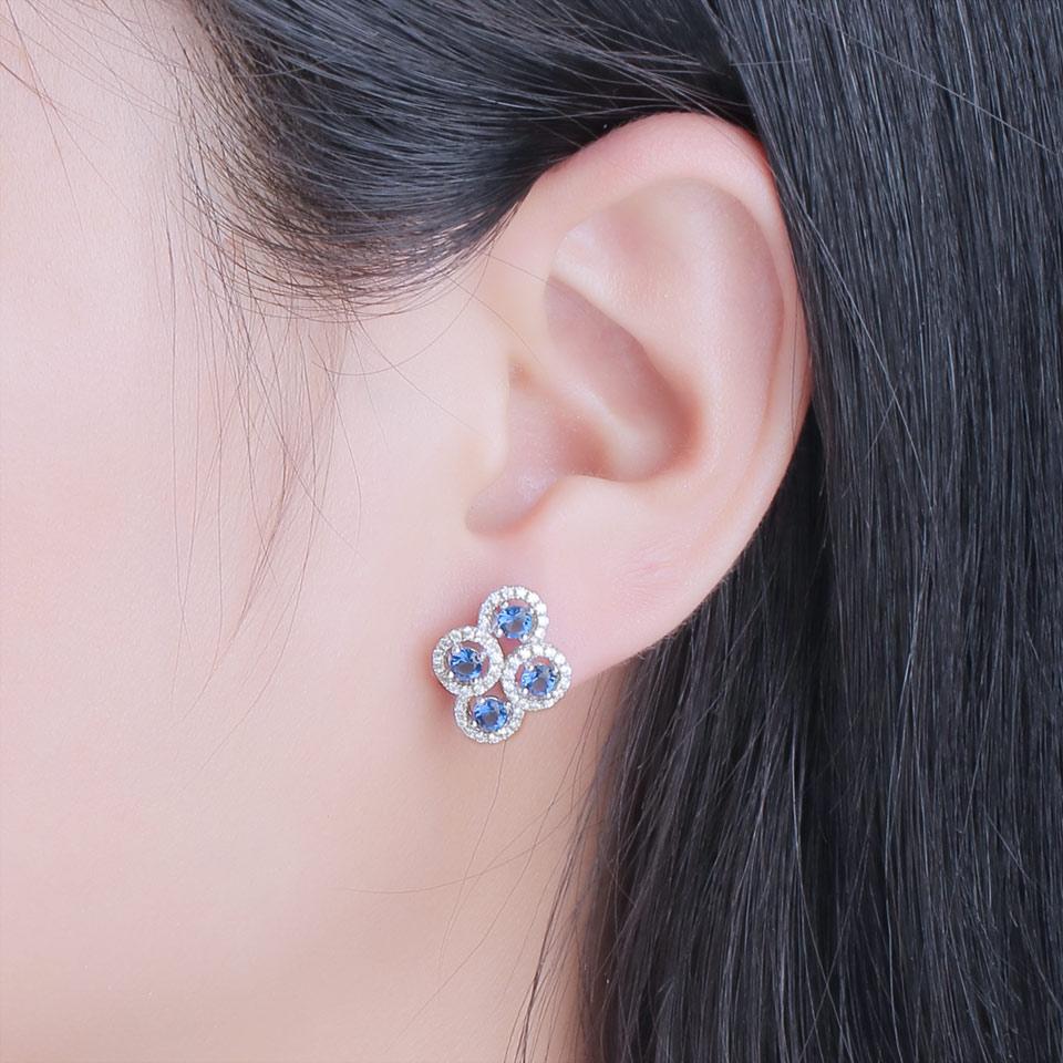 sapphire stud earrings for women fin jewelry (8)
