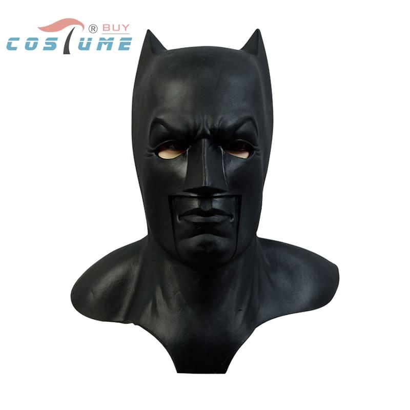 buy batman v superman dawn of justice batman latex mask helmet casque full face. Black Bedroom Furniture Sets. Home Design Ideas