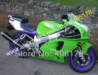 Hot Sales,For KAWASAKI NINJA ZX7R ZX 7R 96 03 ZX 7R 1996 1997 1998 2003 1999 2000 2001 2002 2003 Purple Green Fairing kit