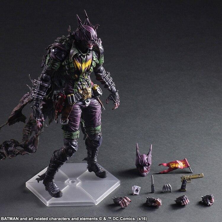 Joker Variant Action Figure 1/6 scale painted figure Batman Rogues Gallery PVC Figure Collectible Model Toy 26cm KT3984 северные морепродукты variant frozen