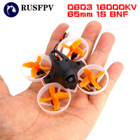 HB65 65 мм 0603 16000KV F3 OSD 5A Dshot 25 МВт 48CH 600TVL 1 s Micro Бесщеточный RC FPV Racing drone FS RX2A/Frsky pro БНФ