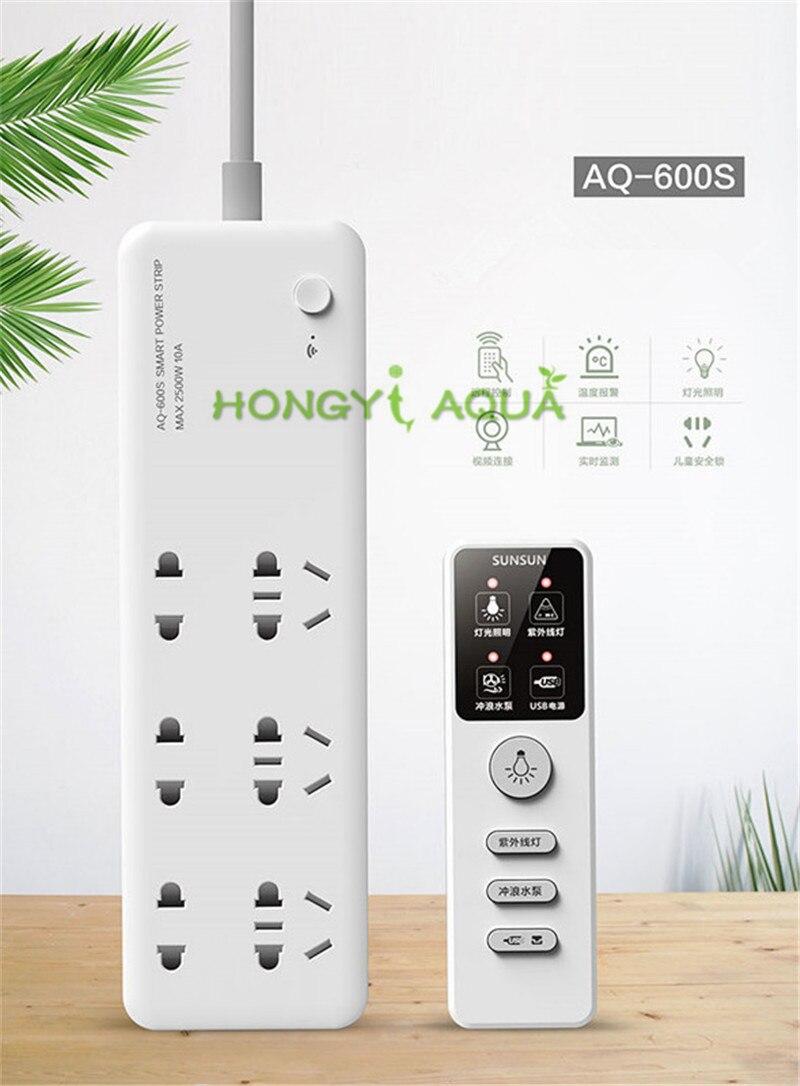 SUNSUN AQ-600S Aquarium contrôleur intelligent sans fil contrôle réservoir de poisson insérer panneau adapté à tous les types de poissons
