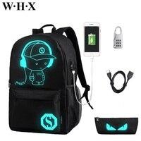 WHX Children Backpack Knapsack SchoolBag For Women Men Unisex Girls Boys Student Pupil School Bags Kids