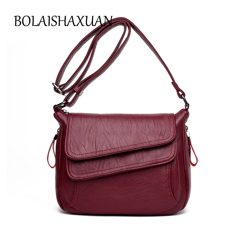 Fashion Women Bag Leather Bags Handbags Famous Brand Small Crossbody Bag Female Designer Casual Tote Handbag Sac A Main 2017 New brand high quality women sheepskin handbag famous designer messager crossbody bag female sac big bags casual tote bolsa feminina